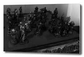 Chess Game Noir