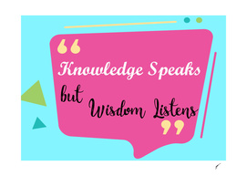 Quote Poster - 58 - Knowledges
