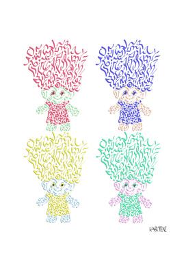 Troll Doll Toy