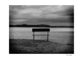 Bench by the lake 3