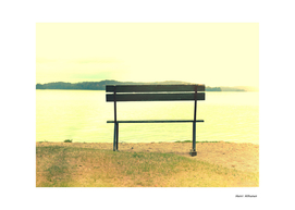 Bench by the lake 4