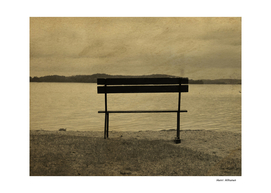 Bench by the lake 9