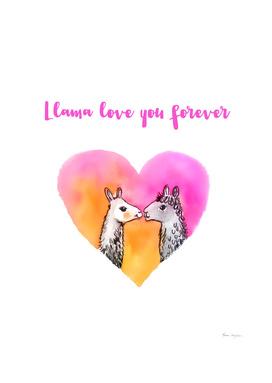 Llama love you forever