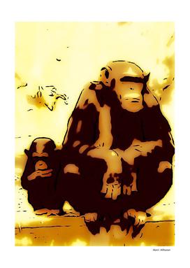 Chimpanzee  7