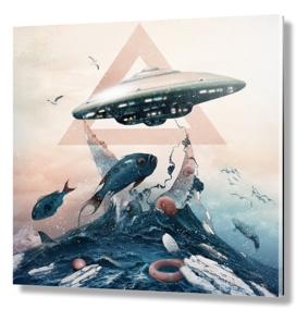 UFO / fishing
