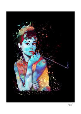 Audrey - Burst of Colors