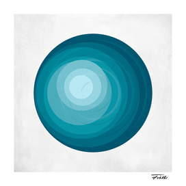 Circle Study in Blue 1