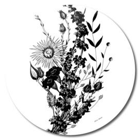 Dark flowers