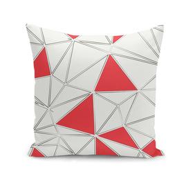 Triangles polygonal shapes geometrical