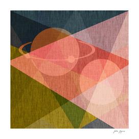 Abstract modern print