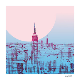 Sun In The City Skyline Design