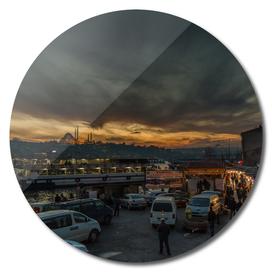 Fish market in Istanbul