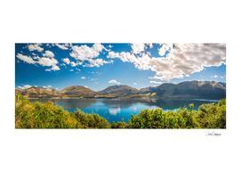 Lake Wakatipu Panorama at Golden Hour