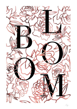 BLOOM - Rose Gold No.1
