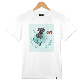 Mermaid Pit Bull