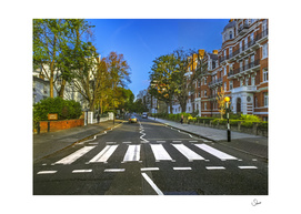 Famous crosswalks in Abbey Road