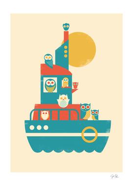 Owl Aboard