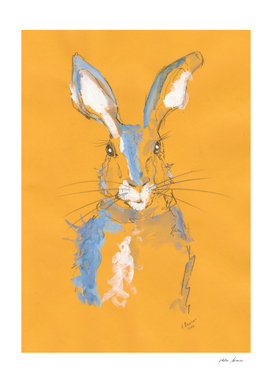 Summer Hare Watercolour