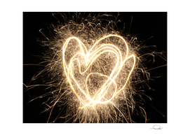 Heart Sparkler