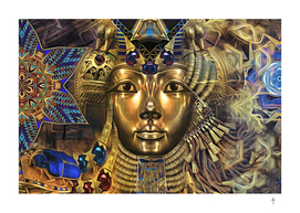 The Golden Egyptian Queen - Gold
