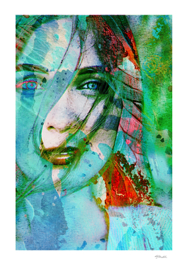girl abstract