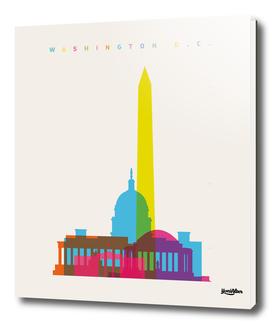 Shapes of Washington D.C.
