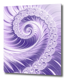 Ultra Violet Luxe Spiral