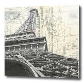 Romantic Paris France Square