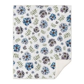 delicate flowers pattern