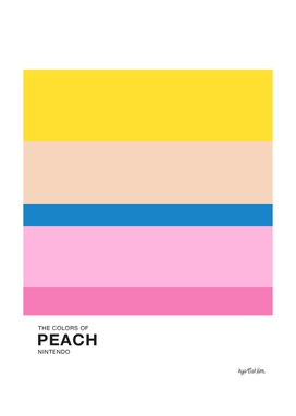 The Colors of Peach