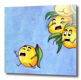 Bold tangerine