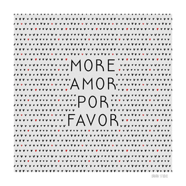 More Amor Black & Red