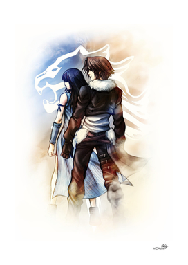 Squall and Rinoa - Griever