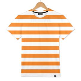 Horizontal Orange Stripes