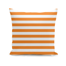 Horizontal Orange Stripes