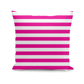 Horizontal Pink Stripes
