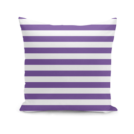 Horizontal Purple Stripes
