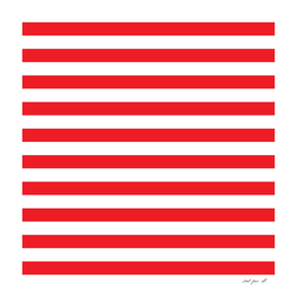 Horizontal Red Stripes