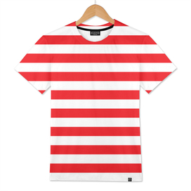 Horizontal Red Stripes