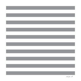 Horizontal Grey Stripes