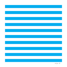 Horizontal Blue Stripes