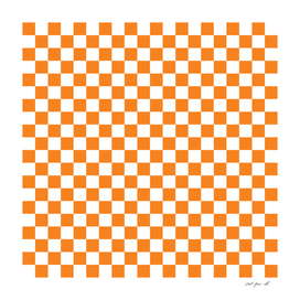 Orange Checkerboard