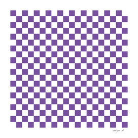 Purple Checkerboard