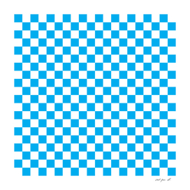 Blue Checkerboard
