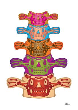 Jelly Monsters - Back Bone