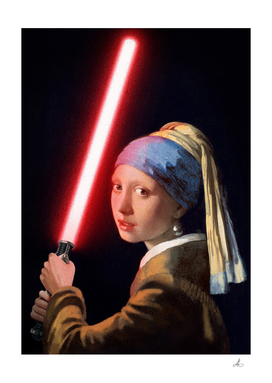 Girl with the Lightsaber