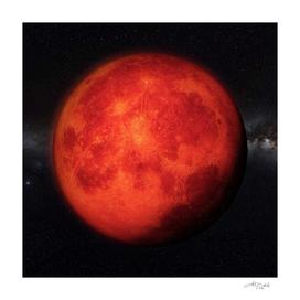 Super bloody Moon