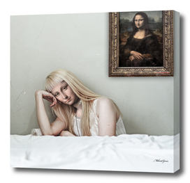 When Art Meets Real Life (Mona Lisa)