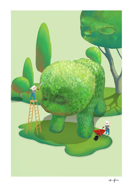 The Topiary Dog