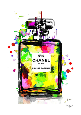 Chanel No. 19 Colored